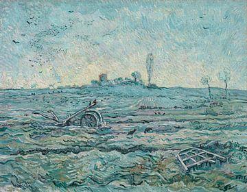 Der Pflug und die Egge (nach Hirse), Vincent van Gogh