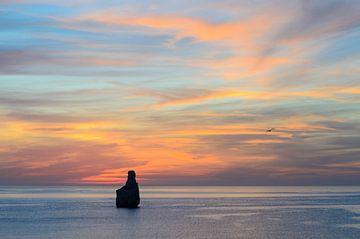 Spanischer Sonnenuntergang von Mark Bolijn