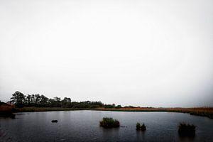 Troosteloze uitzichten tijdens een regenbui