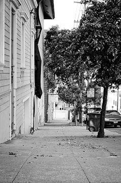Verlassene Straße von Arjen van de Belt