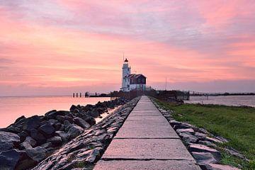 Le phare de Marken sur John Leeninga