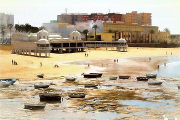 cádiz beach van Bernd Hoyen