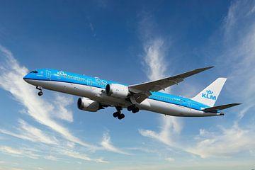 KLM Boeing 787-9 Dreamliner, Reg. PH-BHH van Gert Hilbink