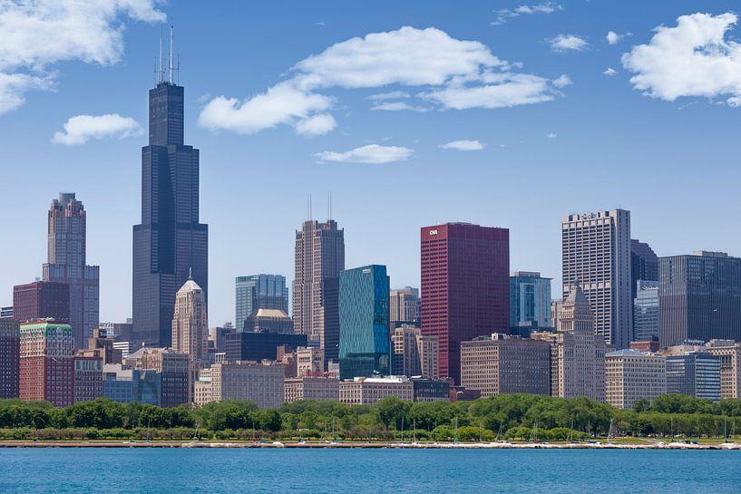 CHICAGO Skyline I van Melanie Viola