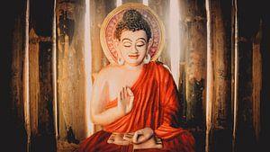 Boeddha in Chin Mudra (B)