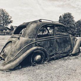 Roestige oude Citroën van BHotography