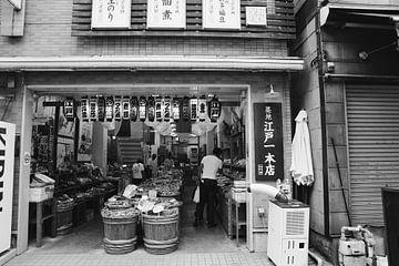 Tokyo Tsukiji vismarkt van yasmin meraki