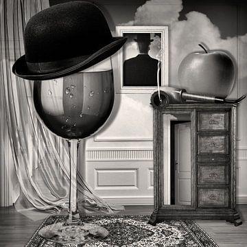 Monsieur Magritte à la Maison van Marja van den Hurk
