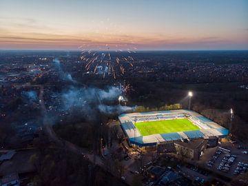 Stadion de Vijverberg 1 van Gerrit Driessen