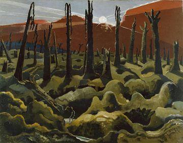 Paul Nash, Wir schaffen eine neue Welt - 1918 von Atelier Liesjes