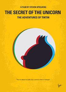 No096 My TINTIN-3D minimal movie poster