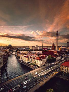 Berlijn Zicht van Iman Azizi