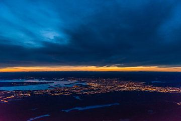 Oslo in der Dämmerung von Denis Feiner