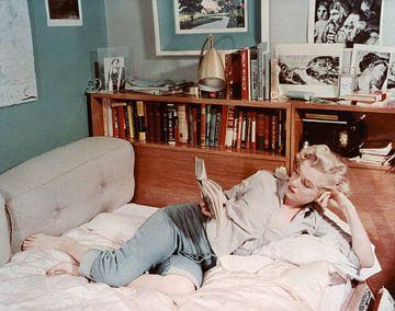 Marilyn Monroe zu Hause (1951) von Bridgeman Images