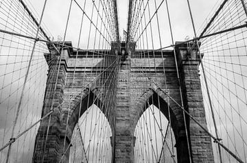 Brooklyn Bridge NY von Marlin van der Veen