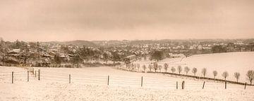 Eerste sneeuw in Simpelveld van John Kreukniet