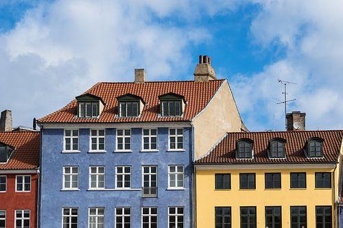 Nyhavn in Copenhagen van Rico Ködder