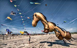 Drachenfestival in Sankt Peter Ording