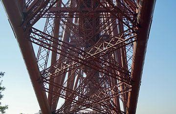 De Forth Bridge is een dubbelsporige spoorwegbrug over de Firth of Forth van Babetts Bildergalerie