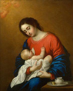 Madonna mit Kind, Francisco de Zurbarán