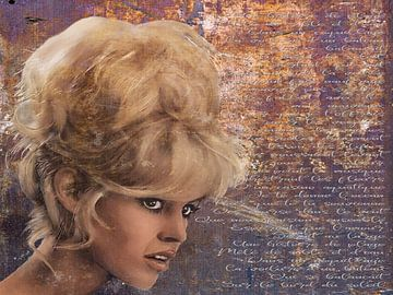 Brigitte Bardot retro - Liedtext von Christine Nöhmeier
