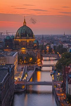 Berlijnse Dom aan de Spree van Heiko Lehmann