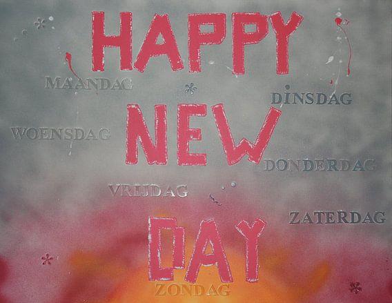 Happy New Day van Toekie -Art