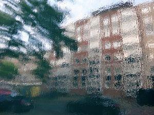 Urban Painting 135 aka StreetView van