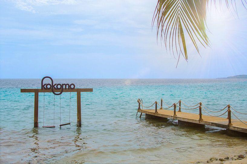 Kokomo beach Curaçao van Maikel van Willegen Photography