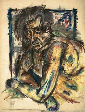 Mann mit intensivem Blick, Arno Nadel von Atelier Liesjes