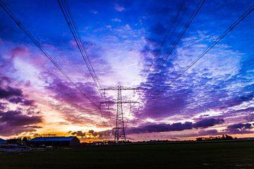 Zomaar een winterochtend in januari bij een prachtige zonsopkomst von Mike Bot PhotographS