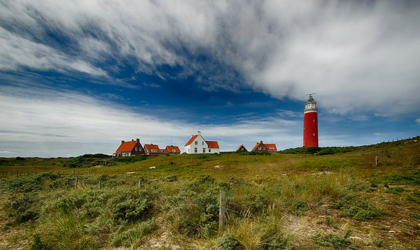 Vuurtoren Eierland, Texel van Patrick van Oostrom