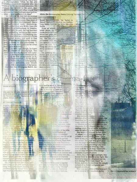 Inside the newspaper von Gabi Hampe