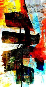 Abstracte symfonie van Gertrud Scheffler