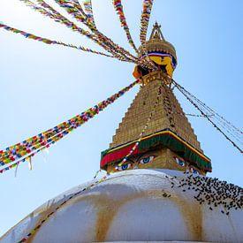 Bouddhanath Tempel van Joost van Riel