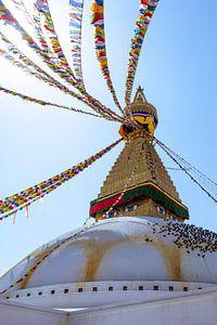 Bouddhanath Tempel von Joost van Riel