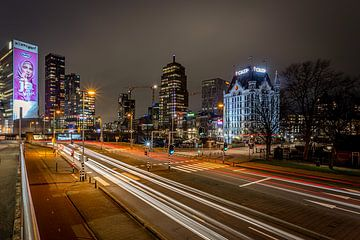 Rotterdam bij Nacht - Willemswerf - Oude Haven van Fotografie Ploeg