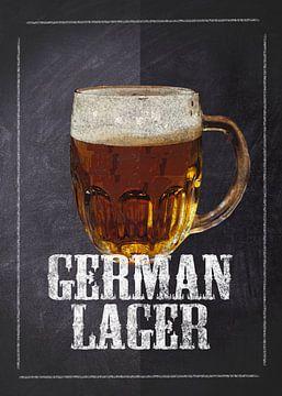 Bier - Deutsches Lager von JayJay Artworks