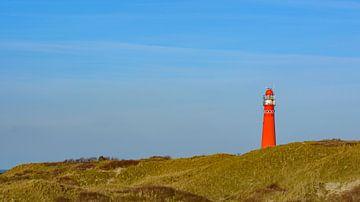 Leuchtturm in den Dünen auf der Insel Schiermonnikoog von Sjoerd van der Wal