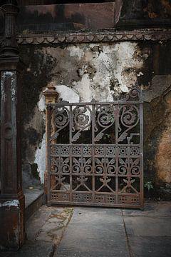 clôture délabrée dans le temple Raj Mahal sur Karel Ham