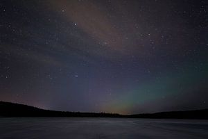 Lapland, touch of Northern Lights