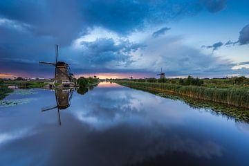 Tempête à Kinderdijk