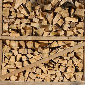 Kist vol brandhout van Berthilde van der Leij