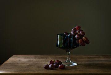 Stilleven met druiven van Natalia Balanina