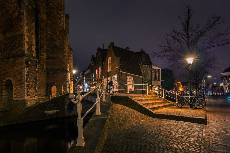 Achter de Kerk Delft van Michael van der Burg