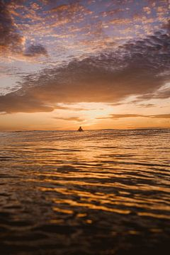 Surfer à Mentawai
