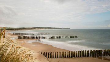 Zand, zee en duinen van