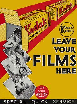 Kodak Reclame Poster.