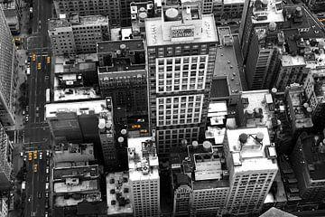 New York von oben von Sander de Jong