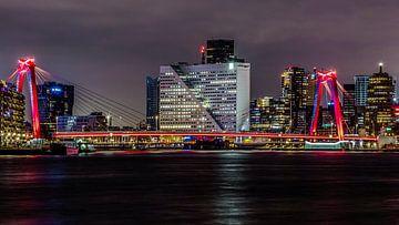 Willemsbrug Rotterdam van Rene de Nooijer